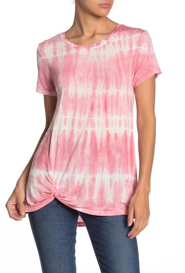 Imbracaminte Femei C C California Shibori Tie-Dye Twist Front T-Shirt ROSETTE