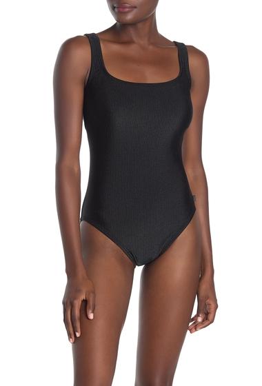 Imbracaminte Femei Reebok Sport Ribbed One-Piece Swimsuit BLK