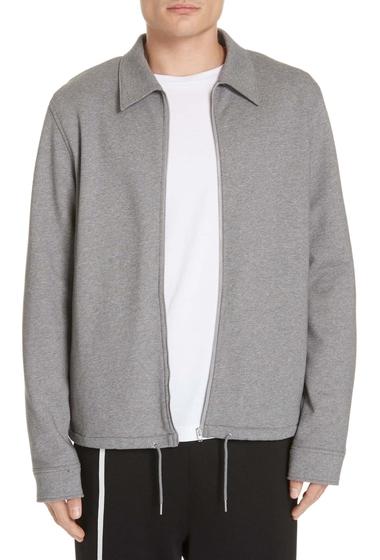 Imbracaminte Barbati Helmut Lang Fleece Zip Jacket GRY MELNG