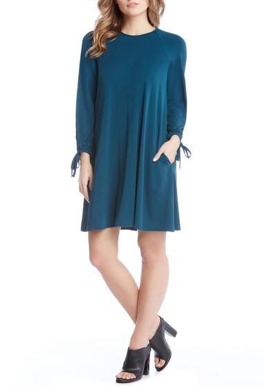 Imbracaminte Femei Karen Kane Tie Sleeve Swing Dress TEA