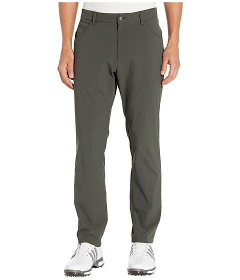 Imbracaminte Barbati adidas Golf Adicross Slim Five-Pocket Pants Legend Earth