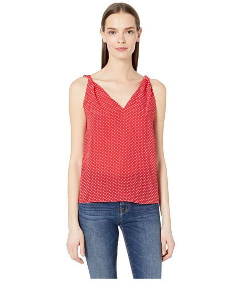 Imbracaminte Femei Rebecca Taylor Sleeveless Dot Print Tank Crimson