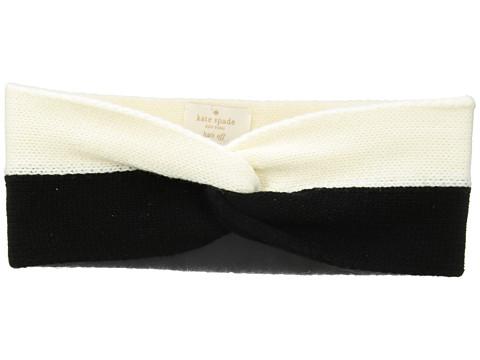 Accesorii Femei Kate Spade New York Stripe Headband BlackCream
