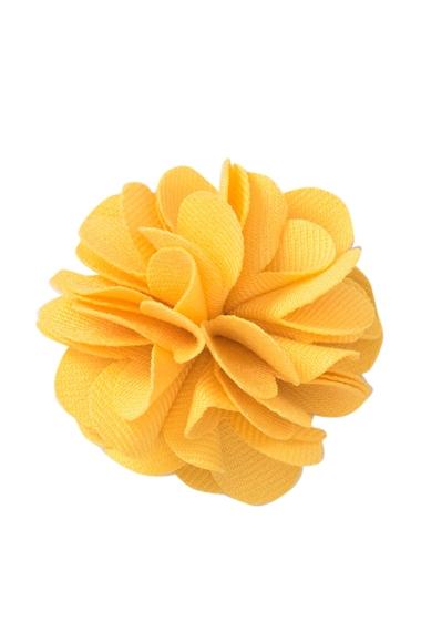 Accesorii Barbati Original Penguin Solid Floral Lapel Pin YELLOW
