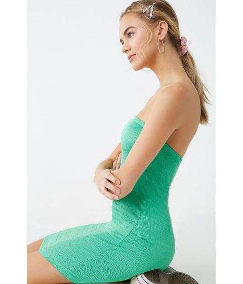 Imbracaminte Femei Forever21 Smocked Tube Mini Dress GREEN