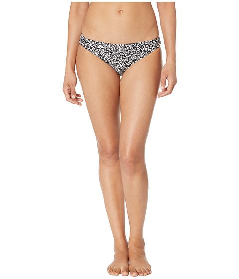 Imbracaminte Femei MICHAEL Michael Kors Shadow Floral Classic Bikini Bottoms Black
