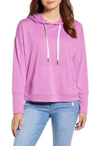 Imbracaminte Femei Caslon Hoodie Sweatshirt PINK ROSEBUD