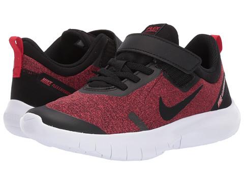 Incaltaminte Baieti Nike Flex Experience RN 8 (Little Kid) BlackRed OrbitUniversity RedWhite
