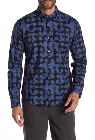 Imbracaminte Barbati John Varvatos Star USA Mayfield Sport Shirt EMPIRE BLUE