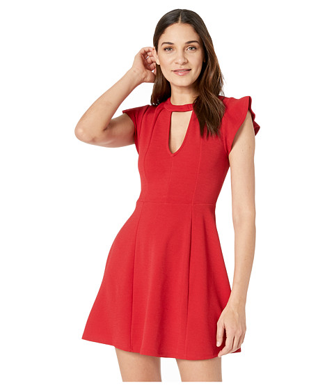 Imbracaminte Femei BCBGeneration Fit amp Flare Dress Jester Red