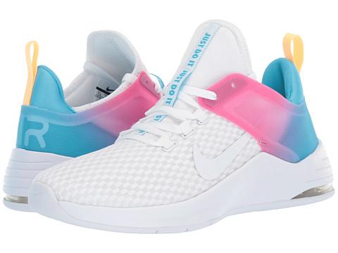 Incaltaminte Femei Nike Air Max Bella TR 2 WhiteWhiteBlue FuryLaser Fuchsia