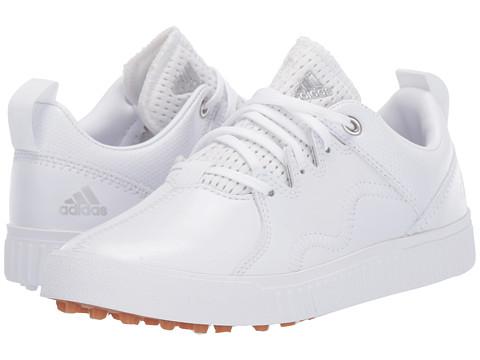 Incaltaminte Barbati adidas Golf Jr Adicross PPF (Little KidBig Kid) Footwear WhiteSilver MetallicGum