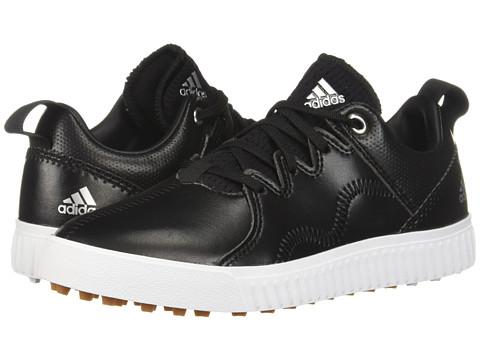 Incaltaminte Barbati adidas Golf Jr Adicross PPF (Little KidBig Kid) Core BlackSilver MetallicGum