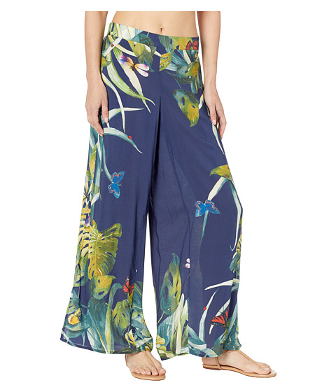 Imbracaminte Femei Vince Camuto Wrap Cover-Up Pants Deep Sea