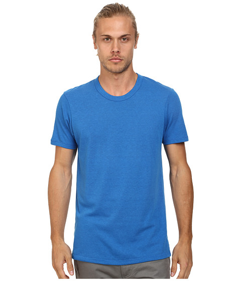 Imbracaminte Barbati Alternative Apparel SS Crew Tee Eco True Bright Blue