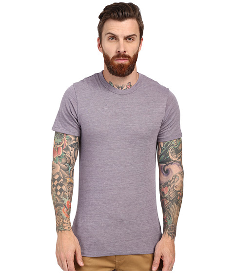 Imbracaminte Barbati Alternative Apparel SS Crew Tee Eco True Purple Dusk