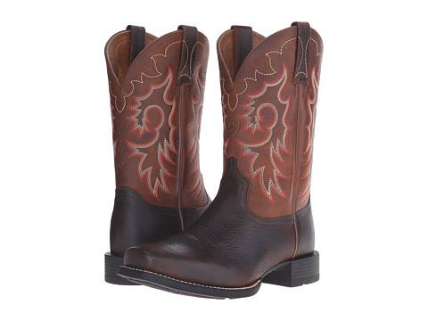 Incaltaminte Barbati Ariat Heritage Reinsman Brown Oiled RowdyWeathered Tan