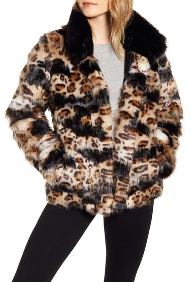 Imbracaminte Femei Sam Edelman Faux Fur Coat Regular Petite PATCHED LE