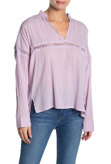 Imbracaminte Femei O'Neill Seaside Long Sleeve Gauze Top LLC