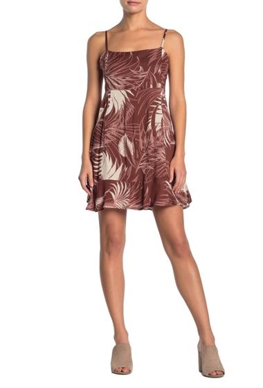 Imbracaminte Femei O'Neill Nathan Floral Print Ruffle Hem Dress RUS