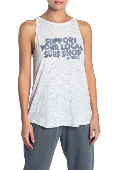 Imbracaminte Femei O'Neill Surf Shop Muscle Tank Top WWH