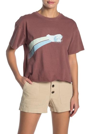 Imbracaminte Femei O'Neill Surf Club Short Sleeve Graphic Print T-Shirt RUS