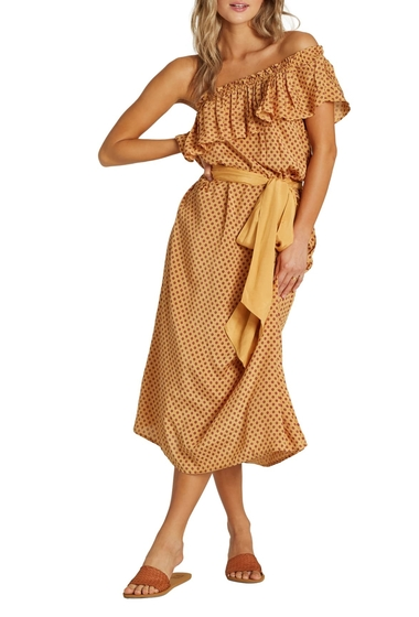 Imbracaminte Femei Billabong Sash Around Dress HOG-HONEY GOLDDNU