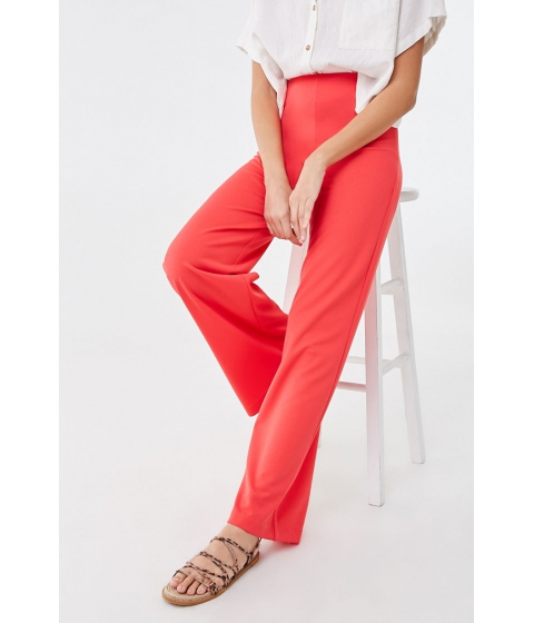 Imbracaminte Femei Forever21 High-Rise Wide Leg Pants CORAL