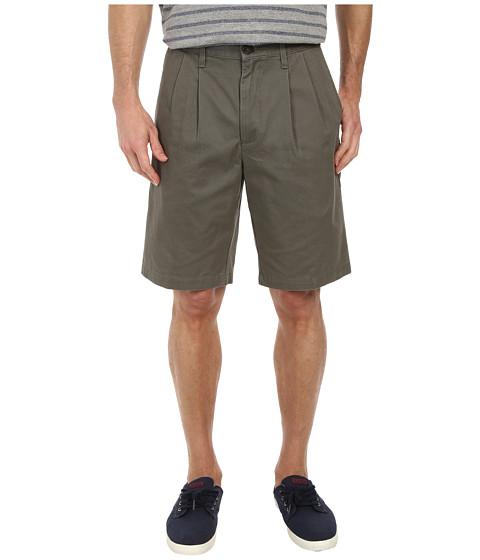 Imbracaminte Barbati Dockers Soft Khaki Pleated Short Oregano