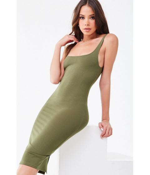 Imbracaminte Femei Forever21 Scoop Bodycon Dress SAGE