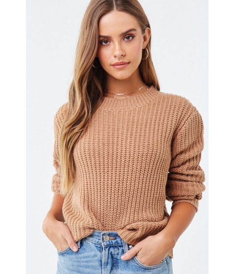 Imbracaminte Femei Forever21 Chunky Knit Sweater CREAM