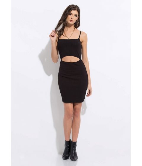 Imbracaminte Femei CheapChic I Want One Two Cut-out Midi Dress Black