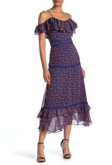 Imbracaminte Femei Rebecca Minkoff KAILEY DRESS BLUE MULTI