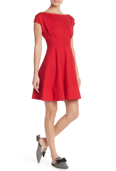 Imbracaminte Femei Kate Spade New York Fiorella Ponte Knit Dress LINGONBERY