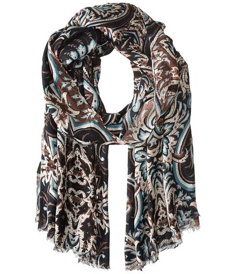 Accesorii Femei Echo Design Romantic Paisley Wrap Black