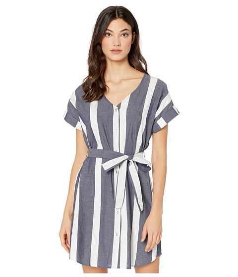 Imbracaminte Femei Roxy Hear Me Now Dress Mood Indigo Sunshade Stripes