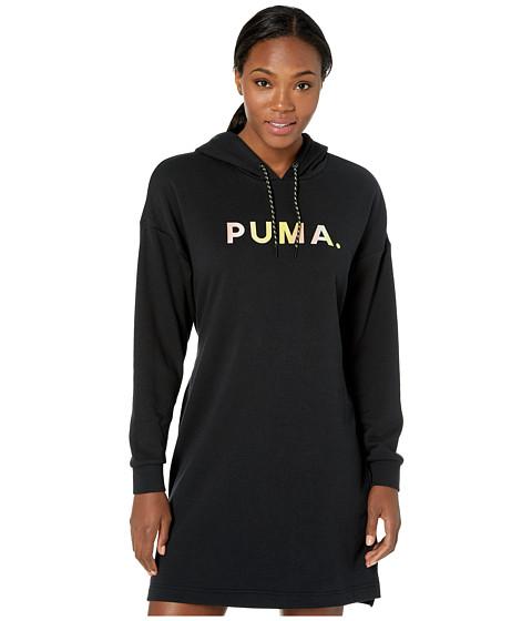 Imbracaminte Femei PUMA Chase Hooded Dress PUMA Black
