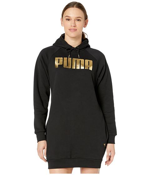 Imbracaminte Femei PUMA Holiday Pack Fleece Sweatshirt Dress Black