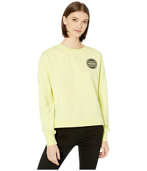 Imbracaminte Femei Bebe Sport Global Sweatshirt Sunny Lime