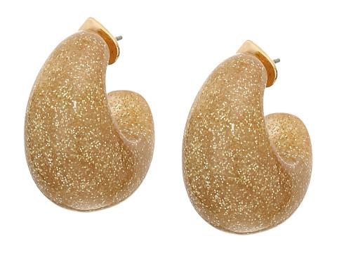 Bijuterii Femei Kate Spade New York Adore-Ables Glitter Huggies Earrings Gold