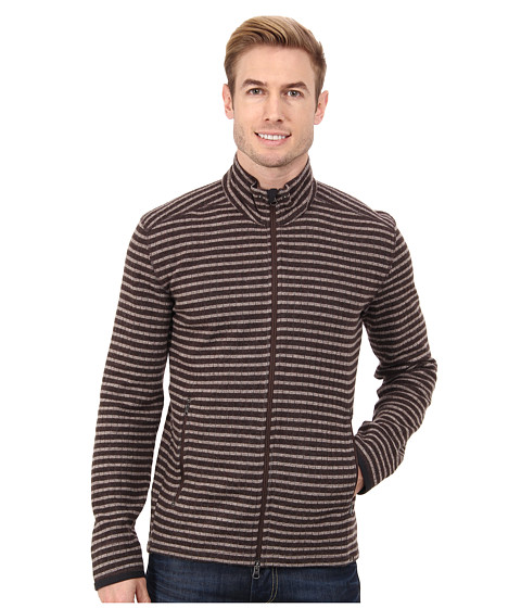 Imbracaminte Barbati Prana Barclay Sweater Brown Stripe