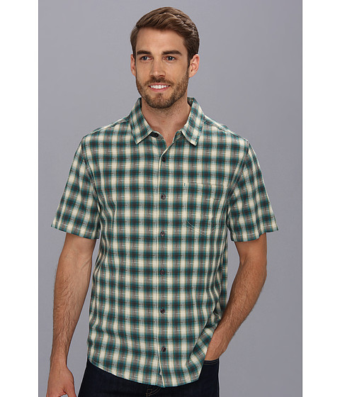 Imbracaminte Barbati ToadCo Open Air SS Shirt Deep Blue Green