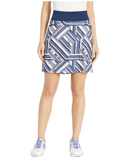 Imbracaminte Femei adidas Golf Ultimate Knit 18quot Printed Skort Night IndigoTrue Pink