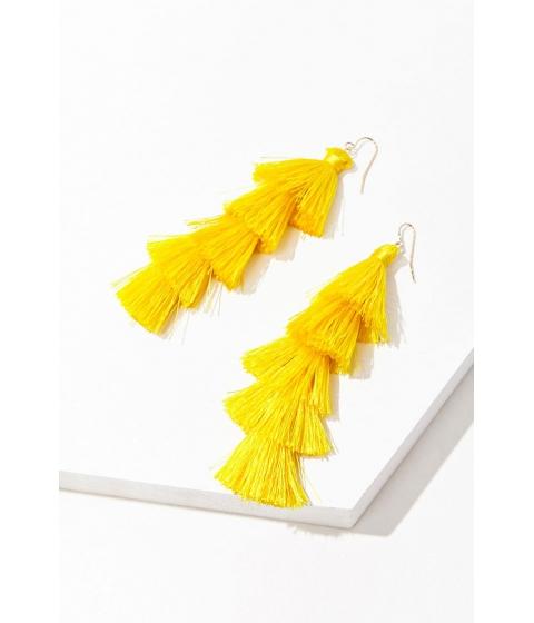 Bijuterii Femei Forever21 Tassel Drop Earrings YELLOW