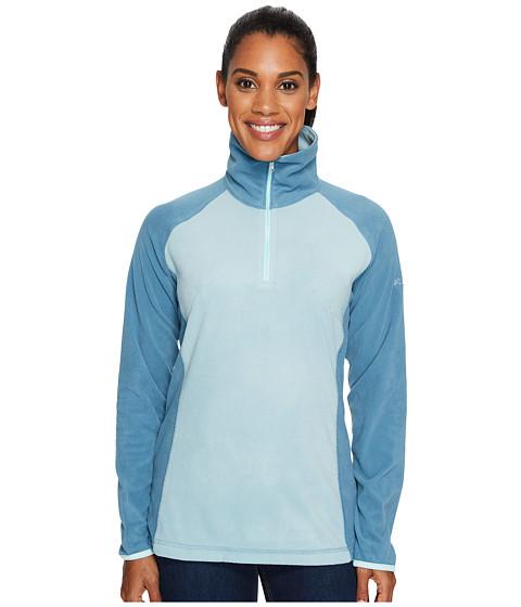 Imbracaminte Femei Columbia Glacialtrade Fleece III 12 Zip Stone BlueCloudburstBlueglass