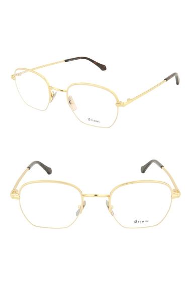 Ochelari Femei Brioni 49mm Novelty Round Optical Frames GOLD GOLD TRANSPARENT