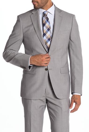 Imbracaminte Barbati Calvin Klein Malbin Two Button Notch Collar Slim Fit Wool Suit Separates Jacket LIGHT GREY