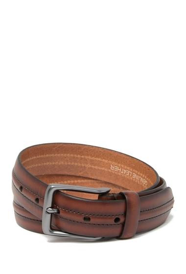 Accesorii Barbati Fossil Baker Leather Belt BROWN