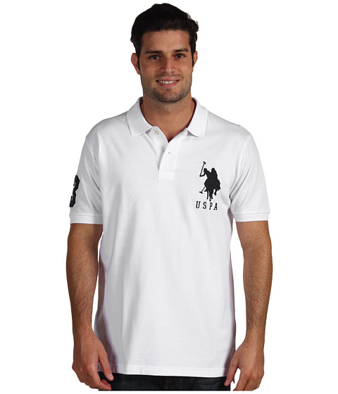 Imbracaminte Barbati US Polo Assn Big Pony Polo II White