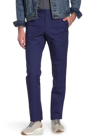 Imbracaminte Barbati John Varvatos Star USA Bedford Solid Pants BLUE